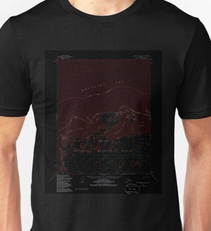 USGS TOPO Map Alaska AK Barter Island A-5 354215 1955 63360 Inverted Unisex T-Shirt