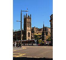 West End, Edinburgh Photographic Print