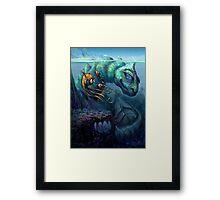 Sea Creature Framed Print