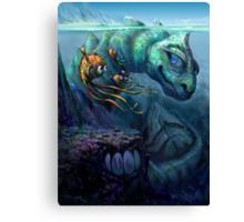 Sea Creature Canvas Print
