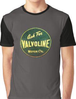 Valvoline Vintage dieselpunk signboard Graphic T-Shirt