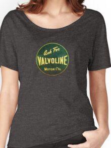 Valvoline Vintage dieselpunk signboard Women's Relaxed Fit T-Shirt