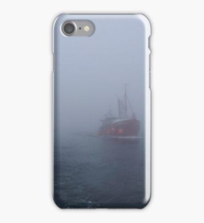 Fog at Scapa Flow iPhone Case/Skin