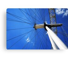 London Calling 0.8 - The Eye Canvas Print