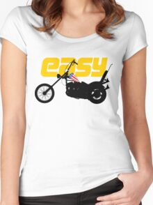 Easy Women's Fitted Scoop T-Shirt