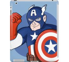 Captain America- the Star Spangled Man with a Plan iPad Case/Skin