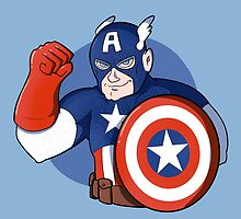 Captain America- the Star Spangled Man with a Plan by TheCatt