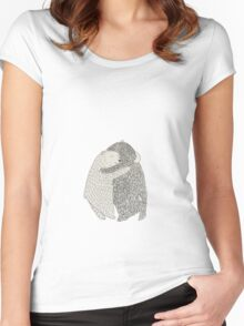 Bears love Women's Fitted Scoop T-Shirt
