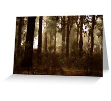 Whipstick Bush in Winter Greeting Card