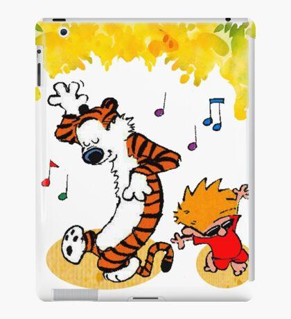 Dance Calvin and Hobbes  iPad Case/Skin