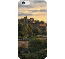 Beautiful Sunset over Edinburgh Castle iPhone Case/Skin
