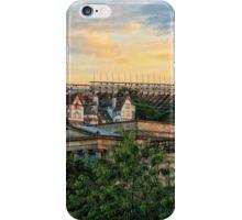 Edinburgh Sunset from Princes Street Gardens iPhone Case/Skin