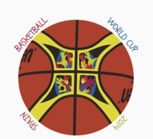 Basketball World Cup Spain 2014 Official ball Kids Tee