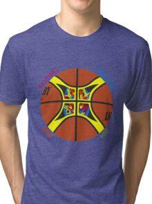 Basketball World Cup Spain 2014 Official ball Tri-blend T-Shirt