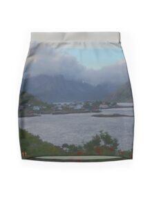 Reine - landscape. Norway  08. 2011. © Andrzej Goszcz. Mini Skirt