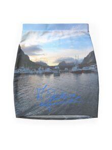 Lofoten Islands - Reine port - Norway . Anno Domini 2011. © Dr.Andrzej Goszcz. Mini Skirt
