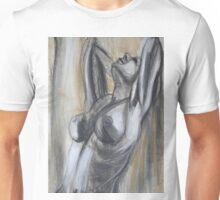 Satisfaction - Female Nude Unisex T-Shirt