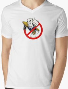 Guess who it is? (no text) Mens V-Neck T-Shirt