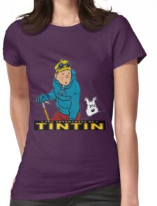tintin_adventure Womens Fitted T-Shirt