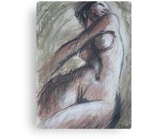 Happy - Female Nude Canvas Print