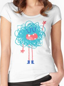 Gribouilli Women's Fitted Scoop T-Shirt