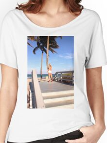 Sexy model posing Women's Relaxed Fit T-Shirt