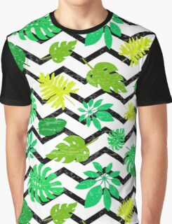 Bright tropical leaf Graphic T-Shirt