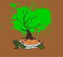 Grandfather Turtle by HeroicGraphics