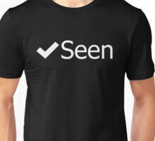 Facebook Seen Unisex T-Shirt