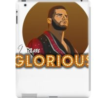 Glorious - Roode iPad Case/Skin