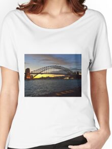 Sydney Harbour Bridge Sunset Women's Relaxed Fit T-Shirt