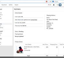 Order details in Fantacy -http://www.fancyclone.net by hitasoft