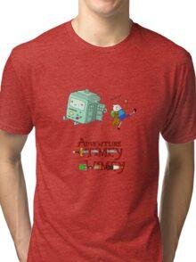 Adventure Timey wimey Tri-blend T-Shirt