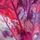 Teasle Leaves by Val Spayne