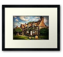 A Quiet Corner of Turville  Framed Print