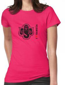I LUV GANESHA | 03 Womens Fitted T-Shirt
