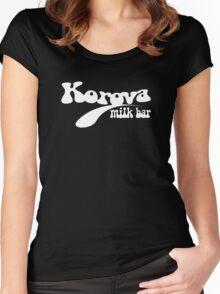 Korova Milk Bar Women's Fitted Scoop T-Shirt