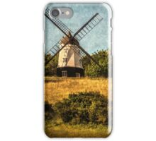Cobstone Windmill Above Turville iPhone Case/Skin