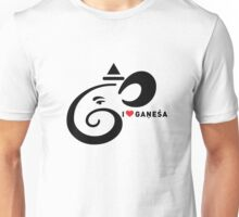 I LUV GANESHA   02 Unisex T-Shirt