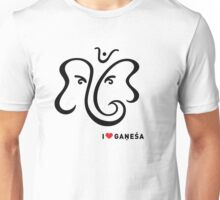 I LUV GANESHA   01 Unisex T-Shirt