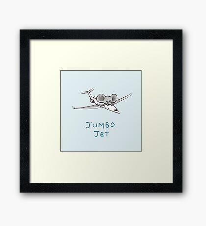 Jumbo Jet Framed Print