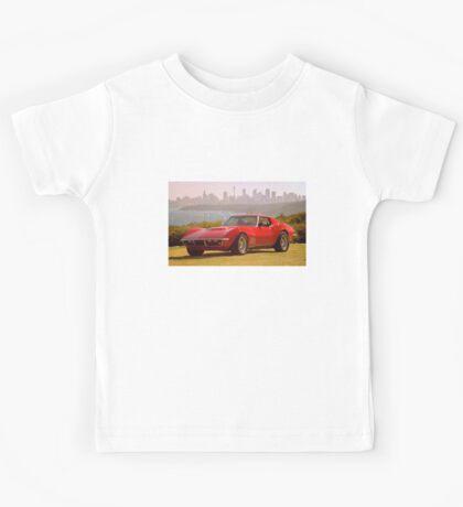 Red Corvette Kids Tee