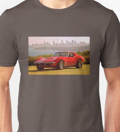 Red Corvette Unisex T-Shirt