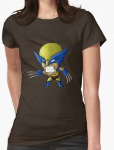 Wolverine Chibi Womens Fitted T-Shirt