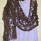 Crocheted Wrap by lezvee