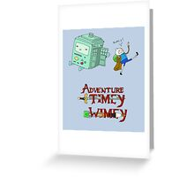 Adventure Timey wimey Greeting Card