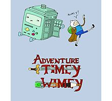 Adventure Timey wimey Photographic Print