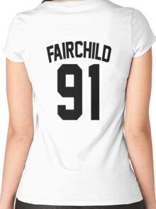 Clary Fairchild's Jersey Women's Fitted Scoop T-Shirt