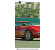 Corvette by the Ocean iPhone Case/Skin