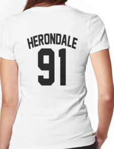 Jace Herondale's Jersey Womens Fitted T-Shirt